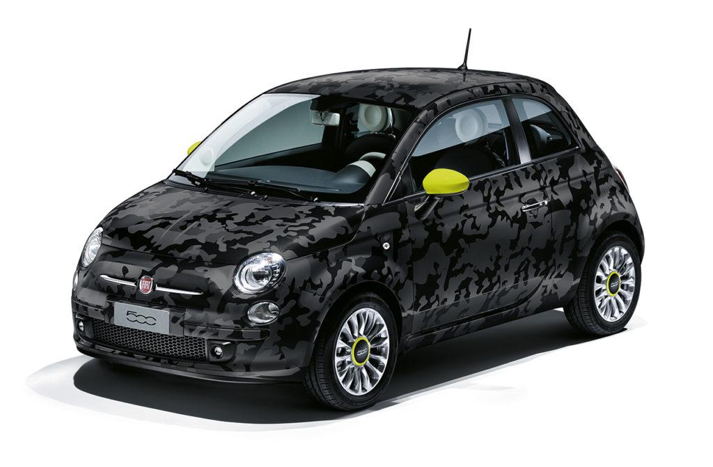 Fiat-500-Camouflage