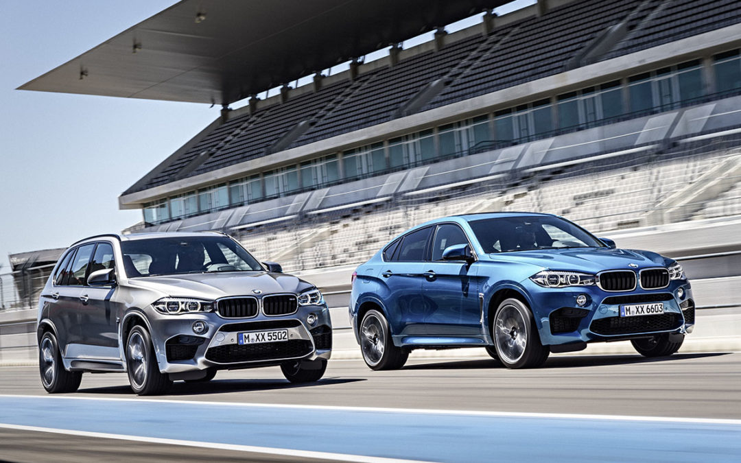 En movimiento: BMW X5 M y X6 M
