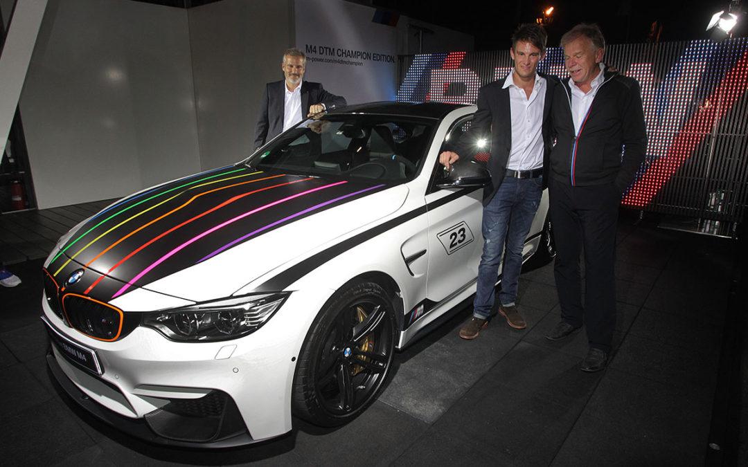 BMW M4 DTM Champion Edition. Tributo a Marco Wittmann
