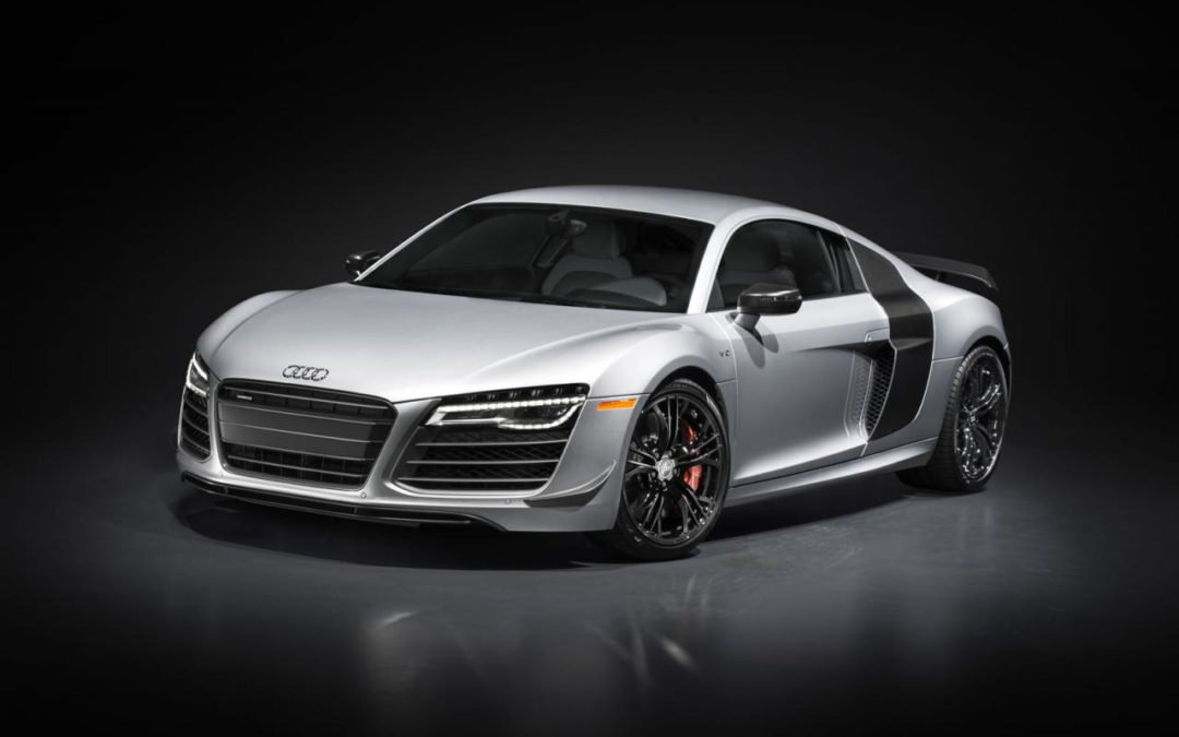 Salón de los Ángeles: Audi R8 competition.