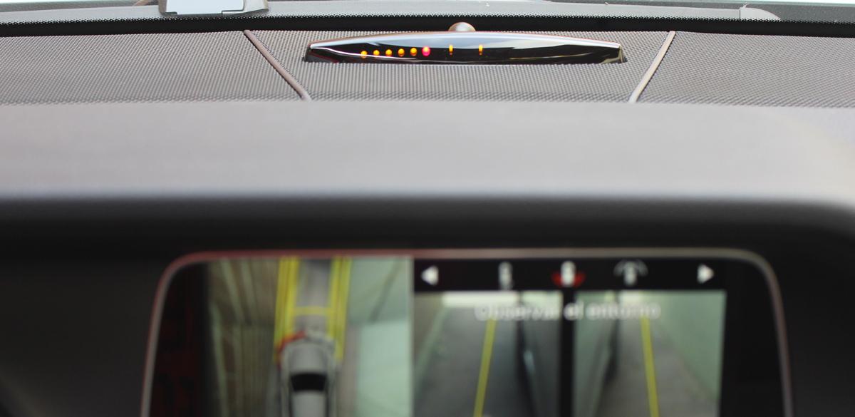 Mercedes-Benz Clase E (2013). Cámara de visión 360º