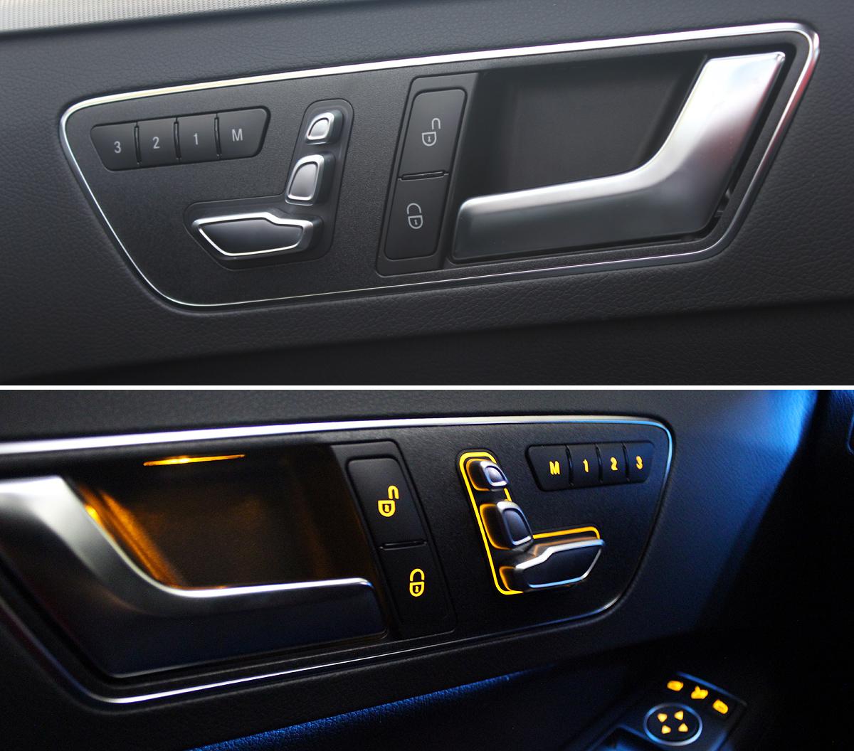 Mercedes-Benz Clase E (2013). Asientos