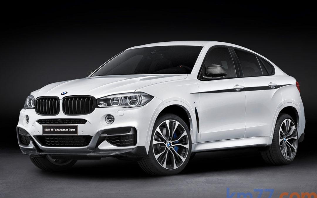M Performance, mejoras estéticas y de rendimiento para el BMW X6