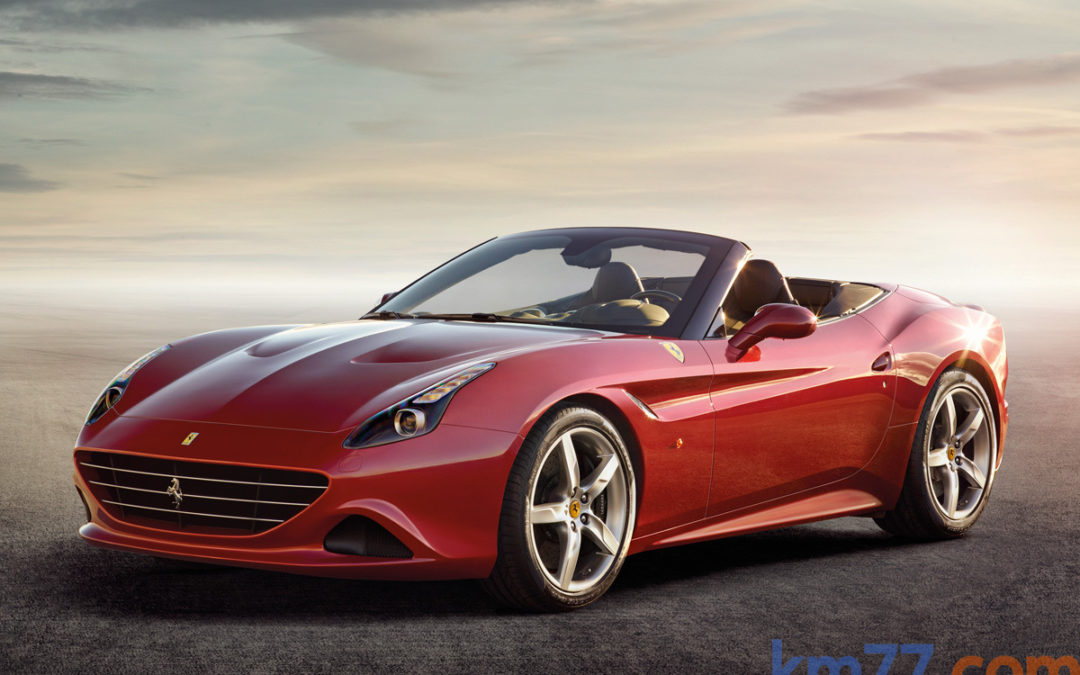 Ferrari California T. Ya a la venta