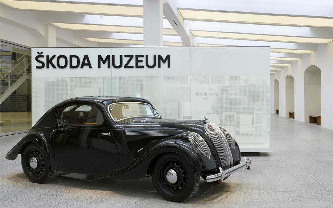 Visita virtual al museo de Škoda