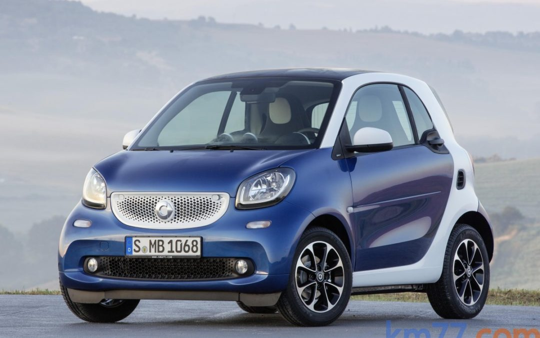 smart fortwo.  Disponible con cambio automático «twinamic»