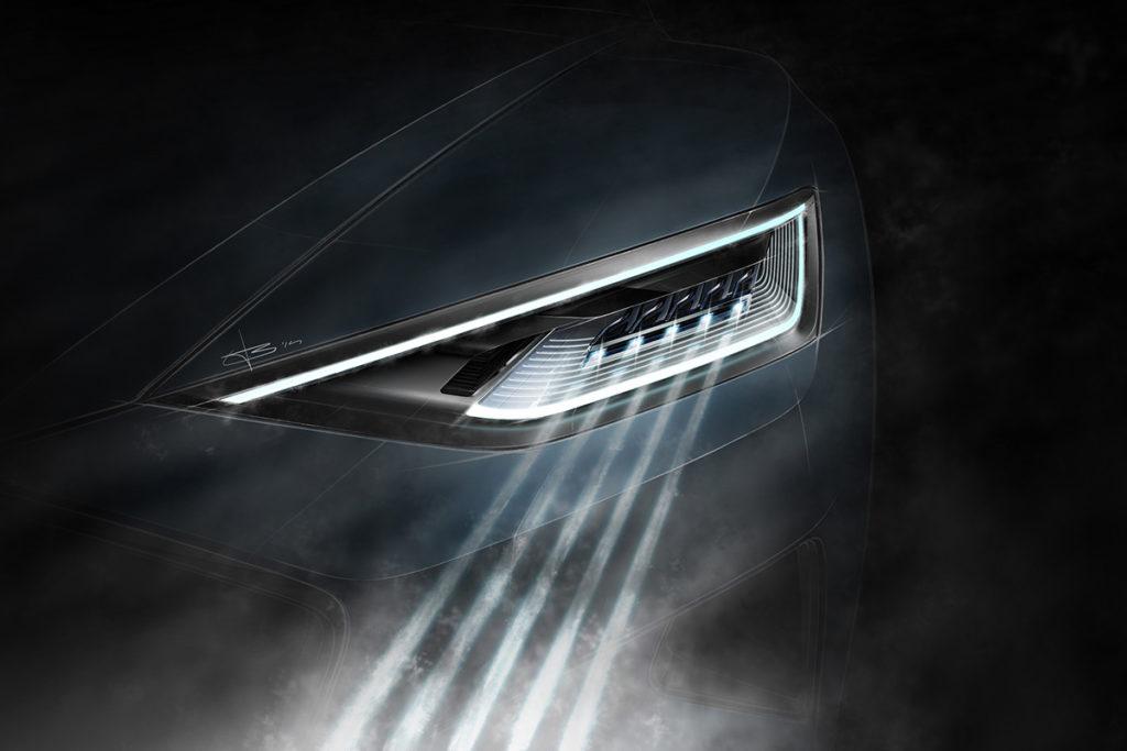 Audi future lab: lighting tech and design