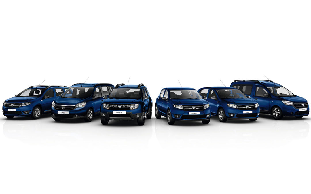 Dacia celebra su 10º Aniversario en Ginebra