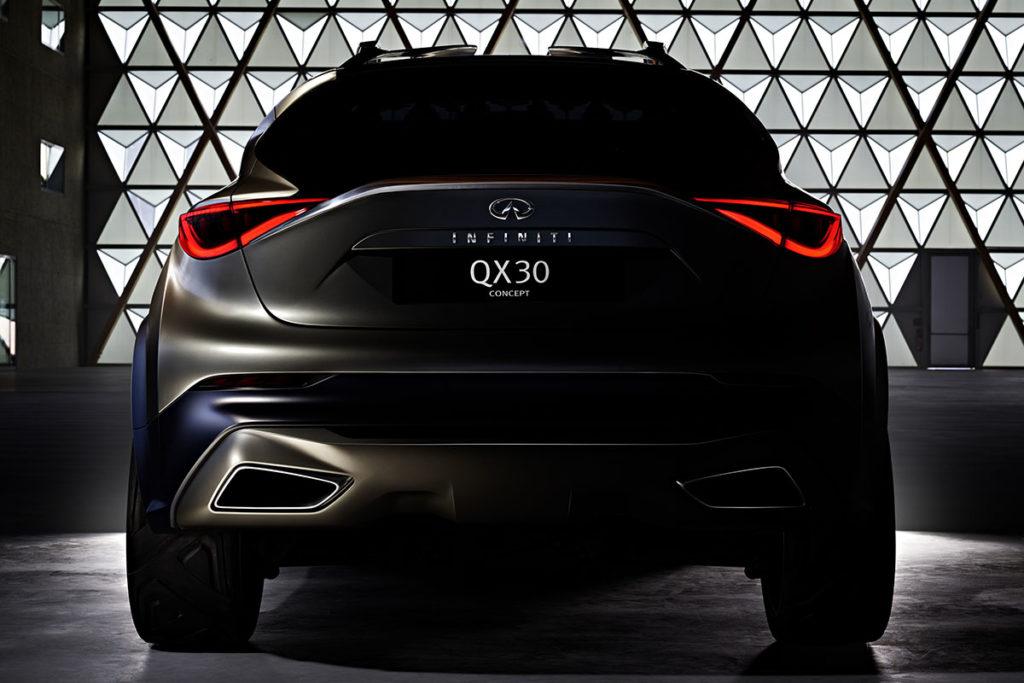 Infiniti QX30 Concept - TEASER image  km77