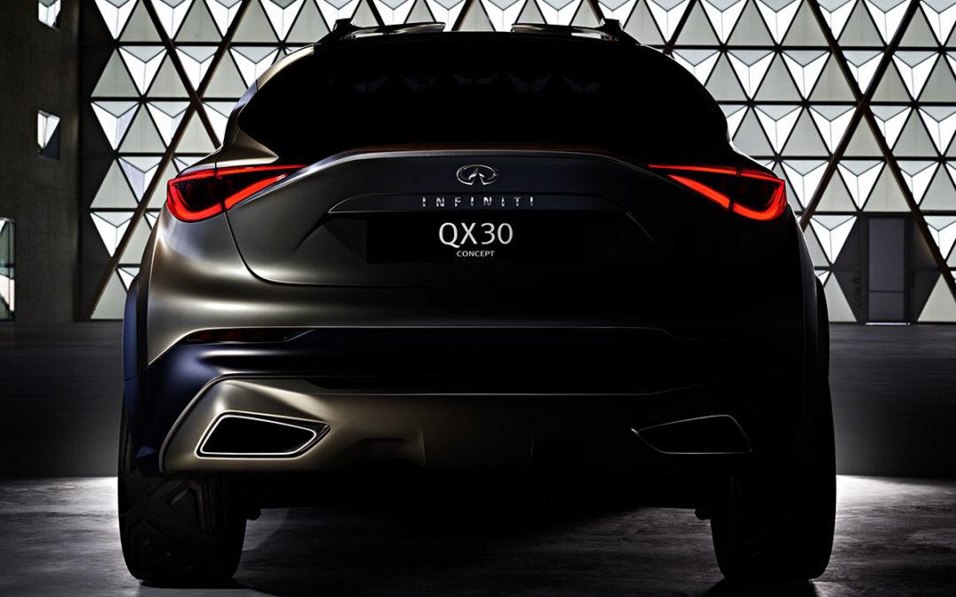 Infiniti confirma el QX30 Concept para Ginebra