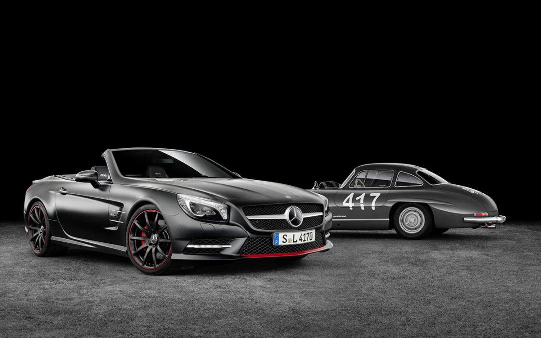 Mercedes-Benz SL Mille-Miglia 417. Homenaje a un campeón