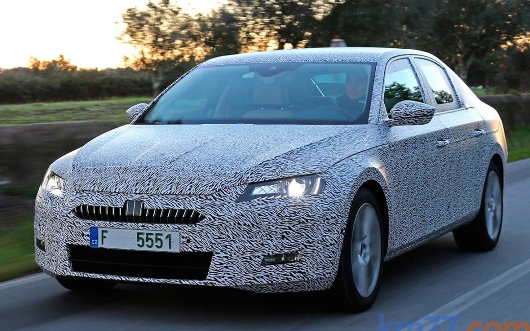 Así es el interior del nuevo Škoda Superb