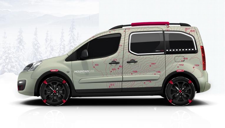 Citroën Berlingo Mountain Vibe Concept, una visión lúdica del nuevo Berlingo