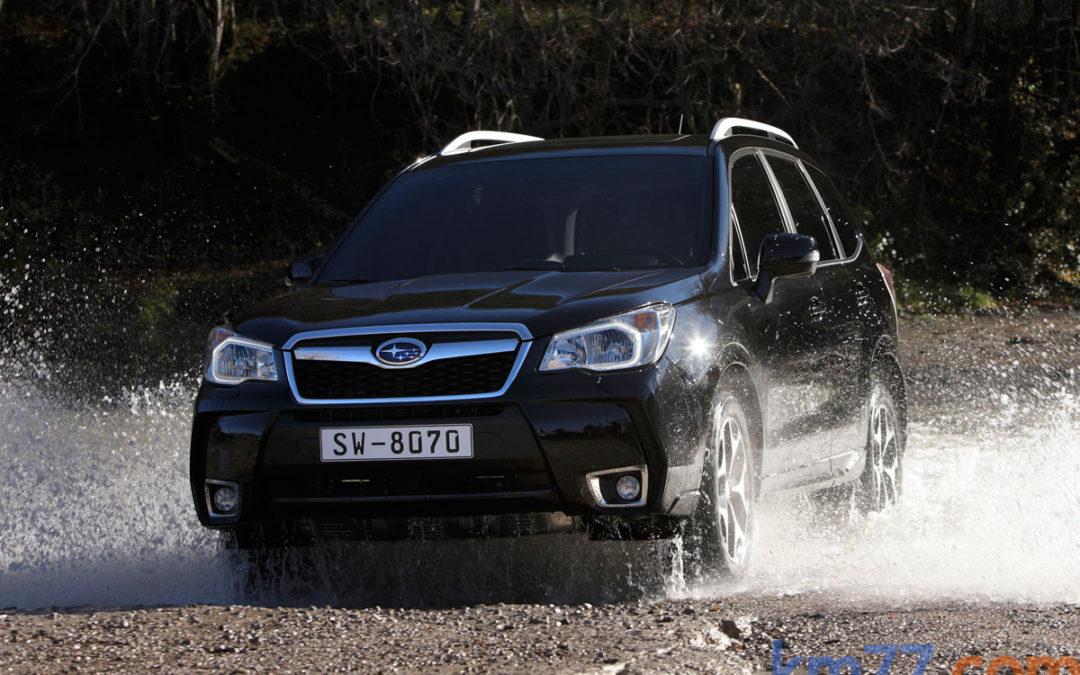 Ya a la venta el Subaru Forester Diesel con cambio automático