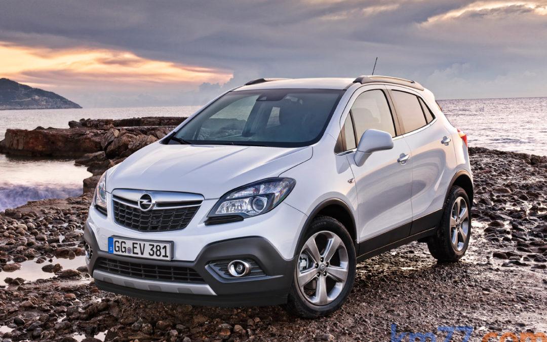 Cambios en la gama Opel Mokka