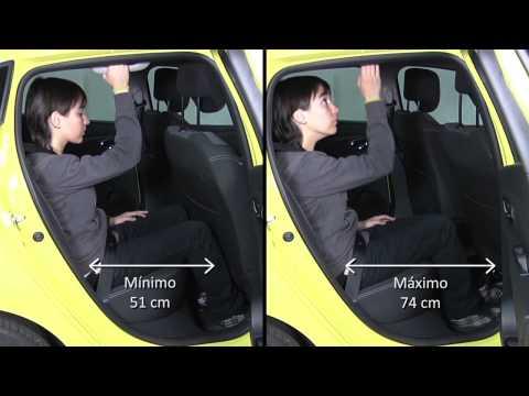 Vídeo con detalles del habitáculo y el maletero