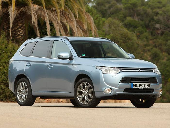 Prueba de consumo (187): Mitsubishi Outlander PHEV 4WD
