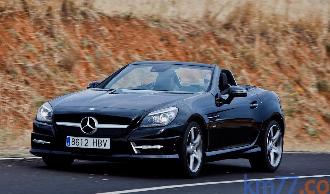 Mercedes-Benz Clase SLK. Cambios en la gama.