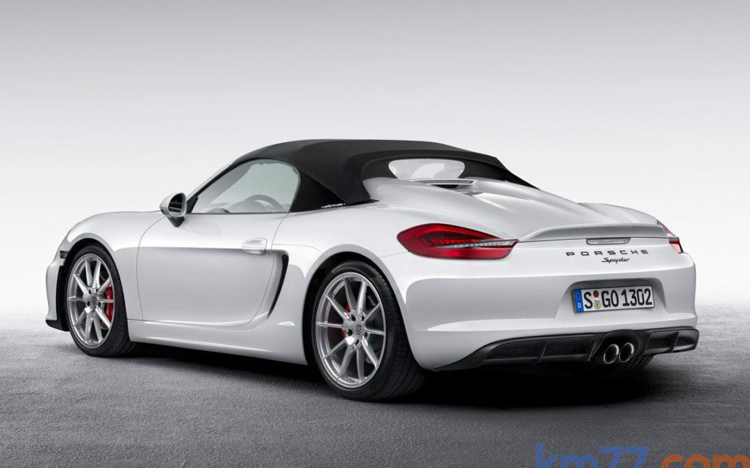 Porsche Boxster Spyder. En vídeo