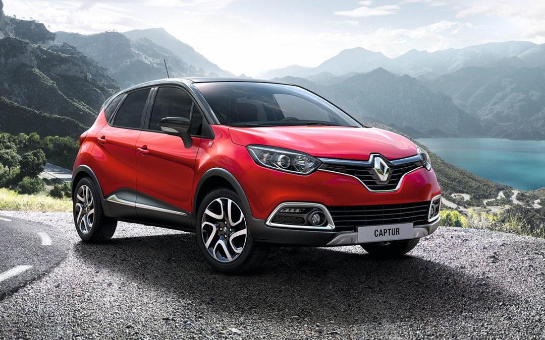 Cambios en la gama Renault Captur