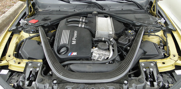 Motor seis cilindros del BMW M4 Coupe