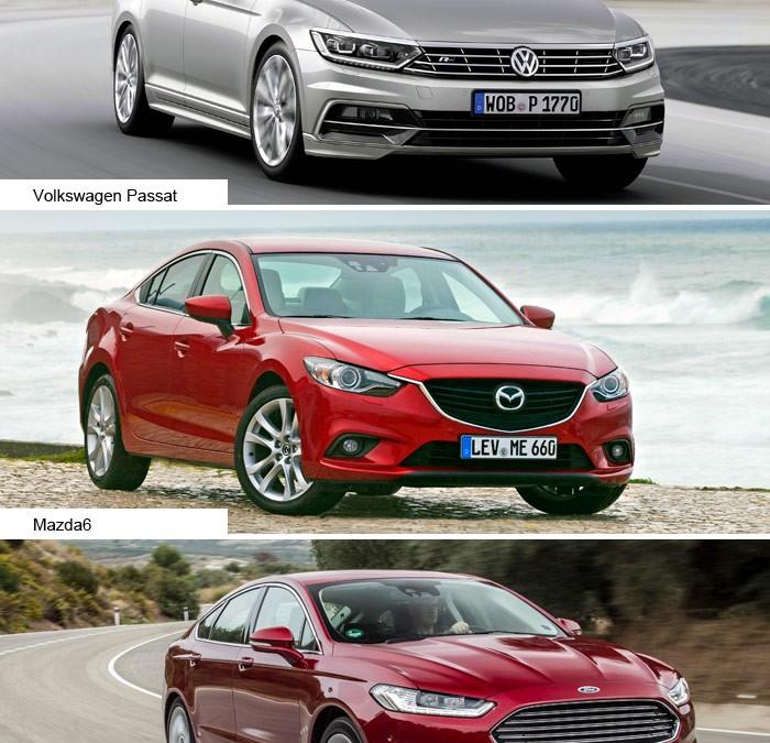Prueba de consumo (195): Mondeo/Mazda6/Passat (150 a 180 CV)