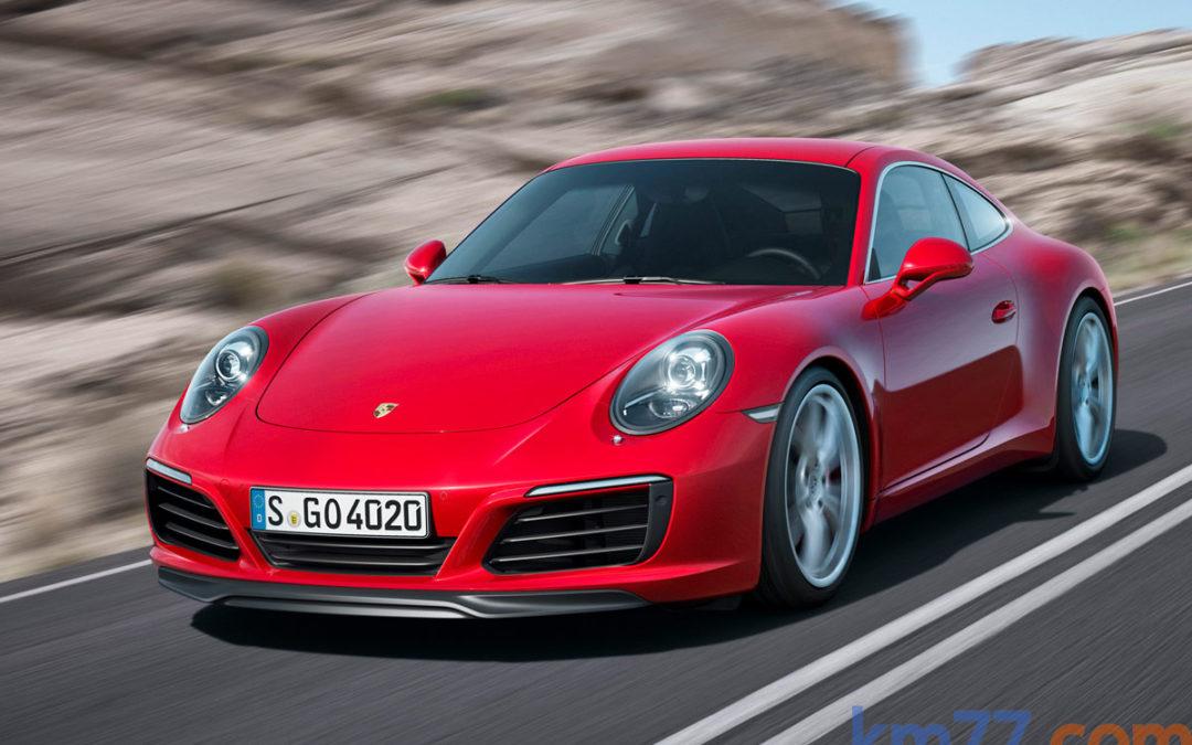 El nuevo Porsche 911 Carrera en movimiento