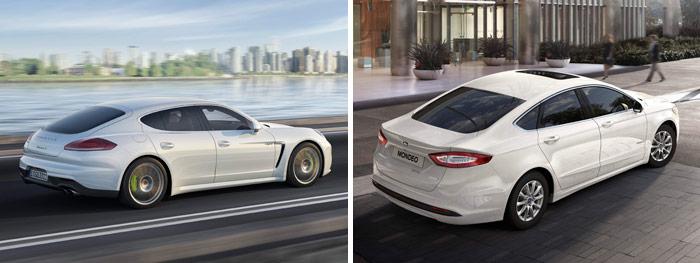 Prueba de consumo híbrido (196): Porsche Panamera/Ford Mondeo