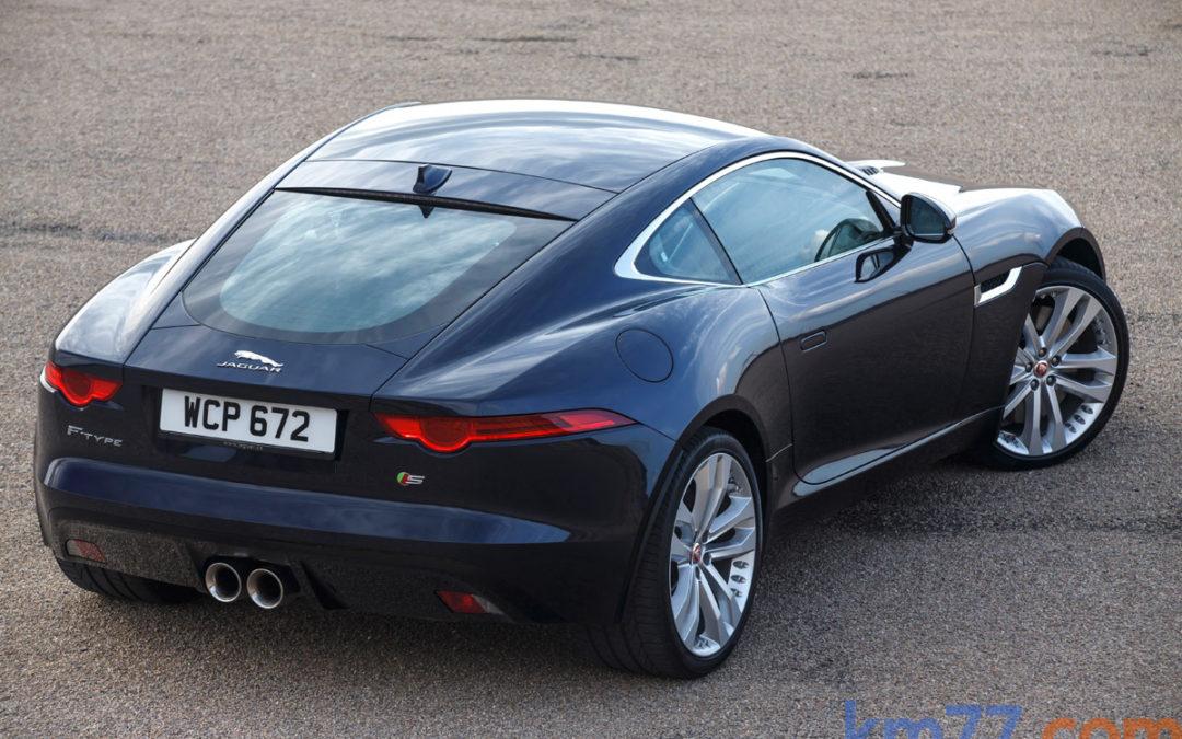 Jaguar F-Type S Coupé AWD V6 3.0 S/C, tan cerca.