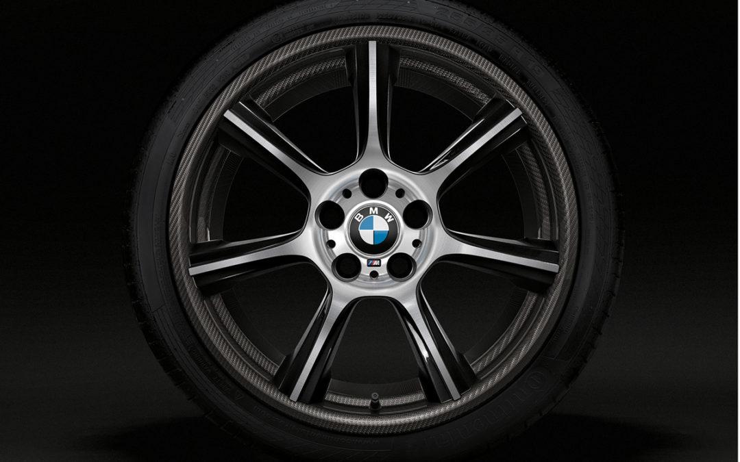 BMW M4 GTS. Llantas de carbono y aluminio