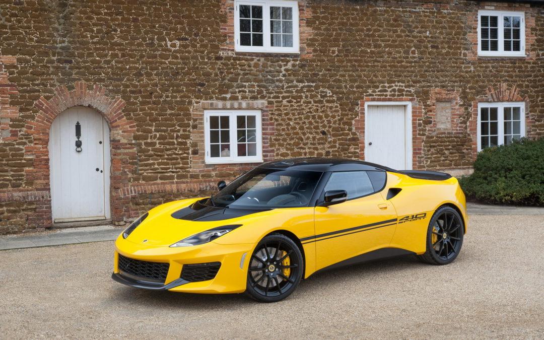 Lotus Evora Sport 410, más potencia y menor peso