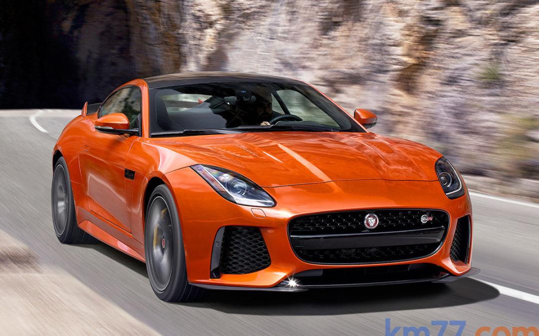 Así suena el nuevo Jaguar F-Type SVR