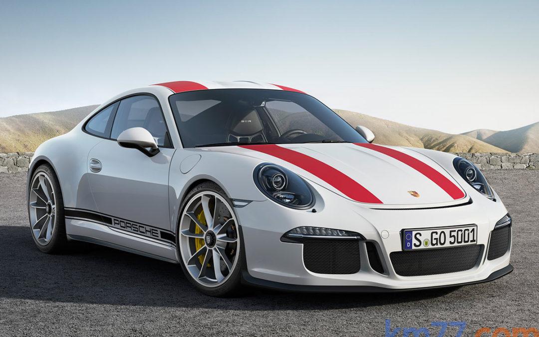 Así suena el nuevo Porsche 911 R (vídeo)