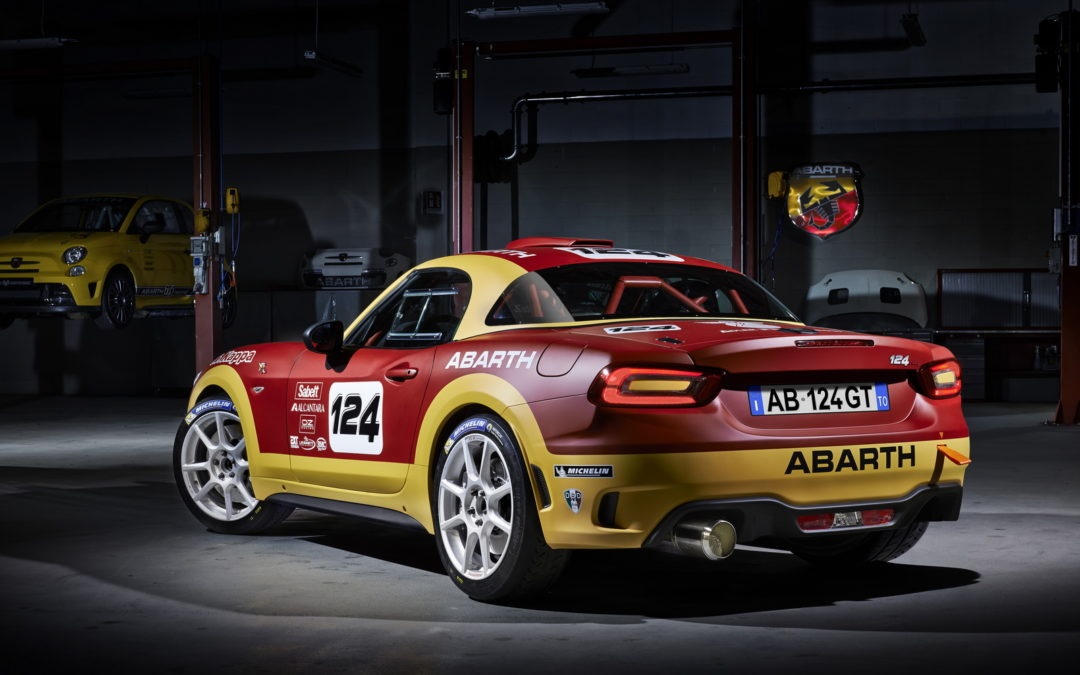 Abarth 124 rally y 124 spider