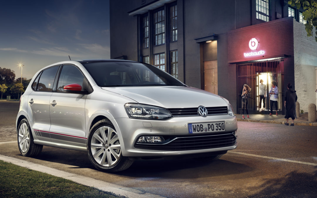 Volkswagen Polo y up! Beats, con 300W de sonido