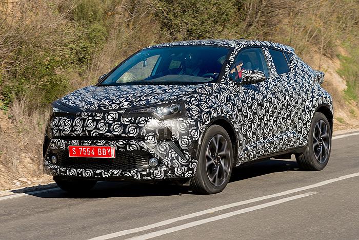 El proyecto del Toyota C-HR