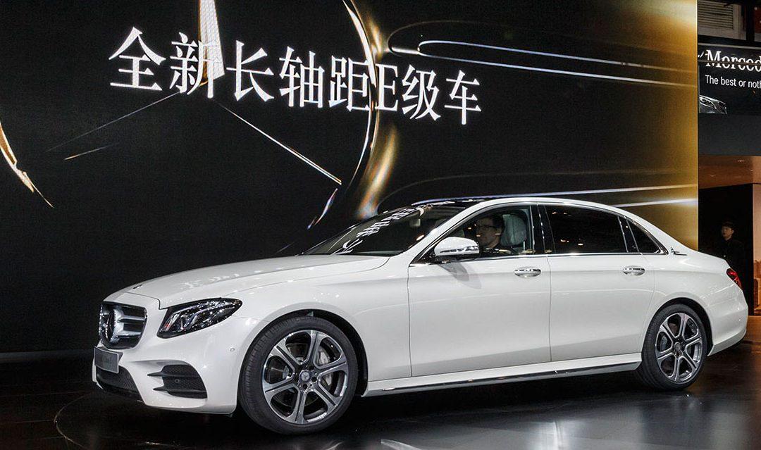 Mercedes-Benz Clase E L. Así es la berlina que no se venderá en Europa