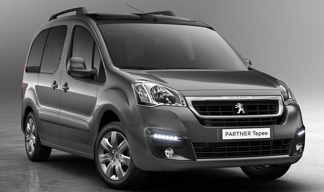 Ya disponible el Peugeot Partner Tepee PureTech