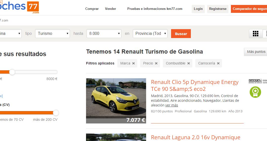 Se vende Renault Clio TCe 90 CV