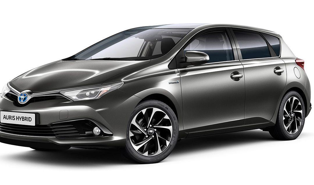 Novedades en la gama Toyota Auris