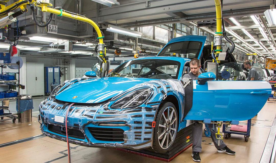 Porsche comienza la producción del 718 Cayman
