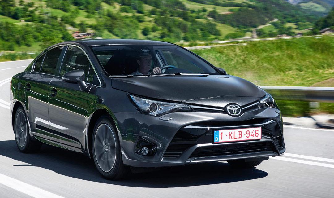Novedades en la gama Toyota Avensis