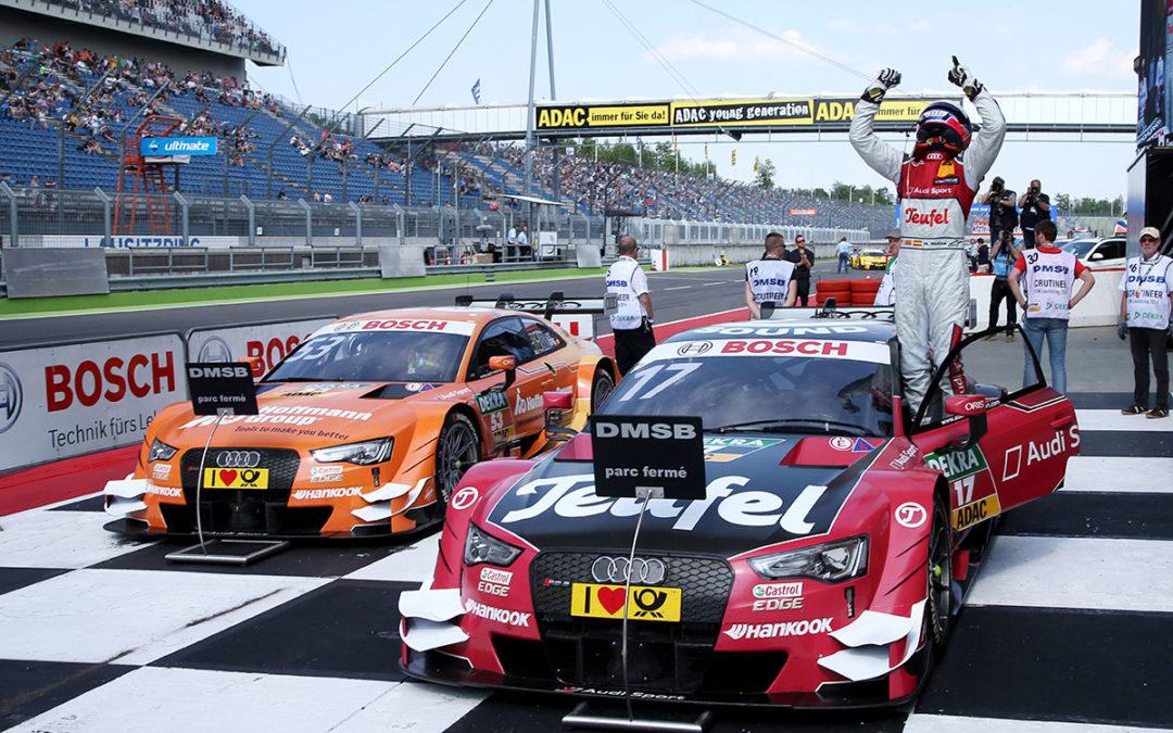 DTM Lausitzring: victoria para Molina y Auer