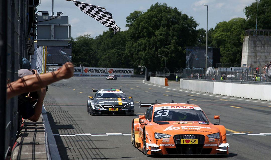 DTM: Doblete de Audi en Norisring