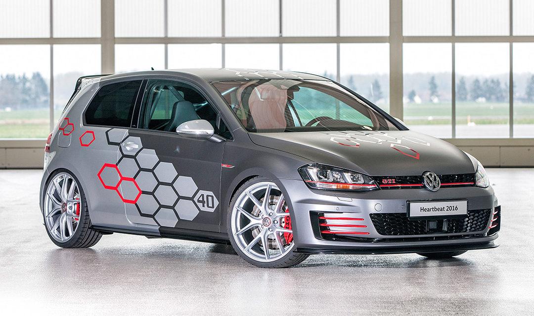 ¿Quién da más? VW Golf GTI Heartbeat con 400 CV de potencia