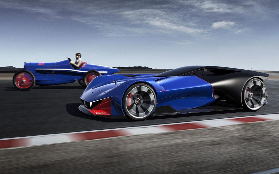 Peugeot L500 R HYbrid. Viaje al futuro