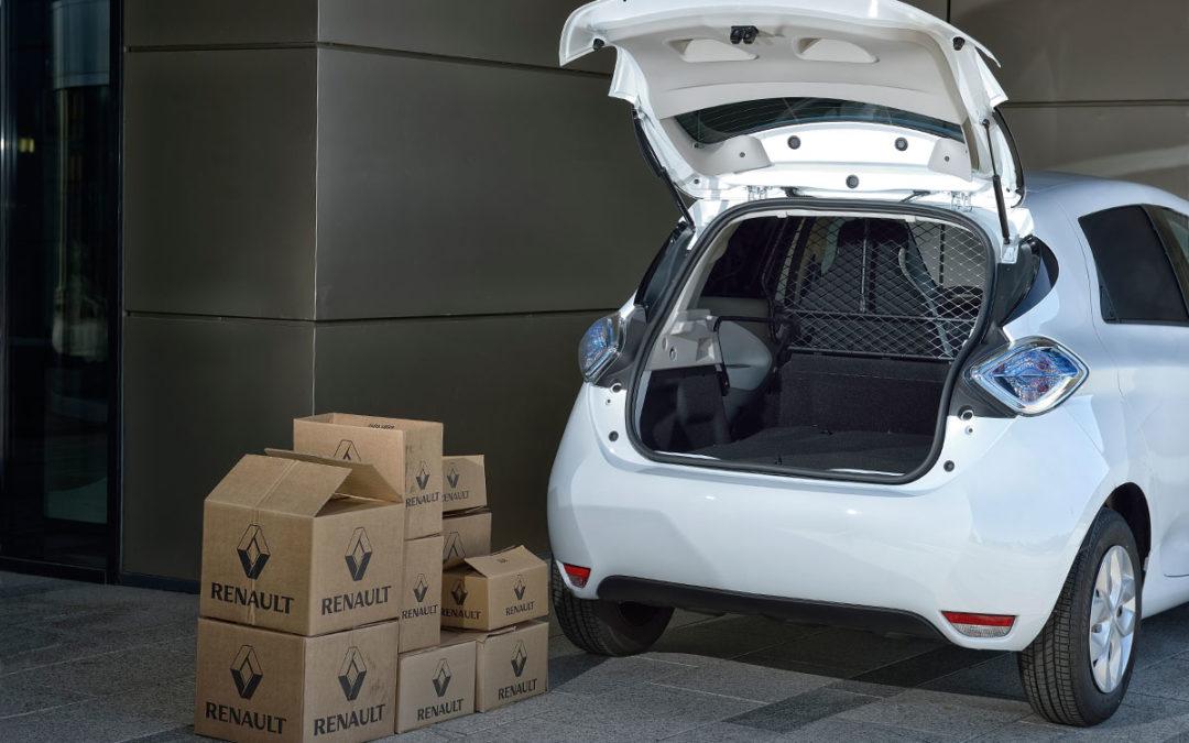 Renault ZOE Societé, con 817 litros de espacio de carga.