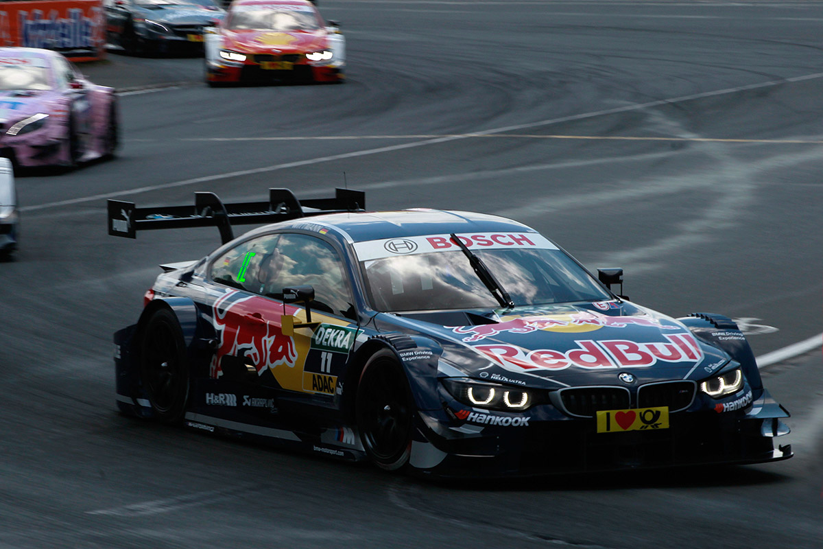 Norisring (DE) 25th June 2016. BMW Motorsport, Race 07, Marco Wittmann (DE) Red Bull BMW M4 DTM.