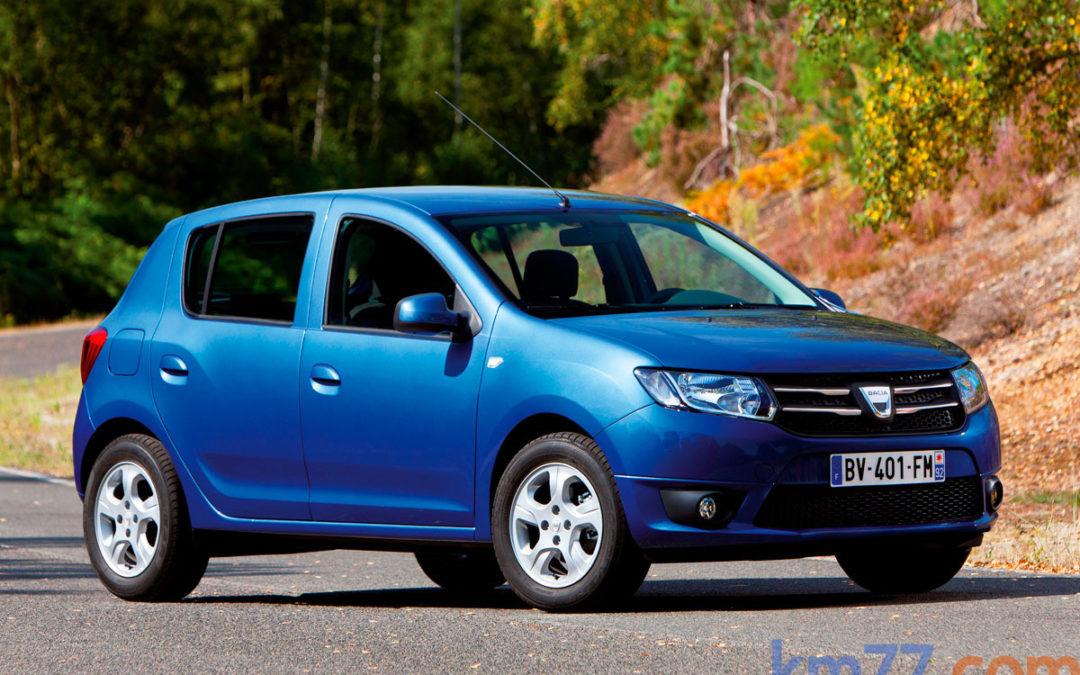 Dacia Sandero con cambio automático desde 10 880 €