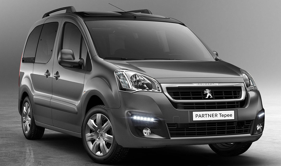 Ya disponible el Peugeot Partner Tepee PureTech